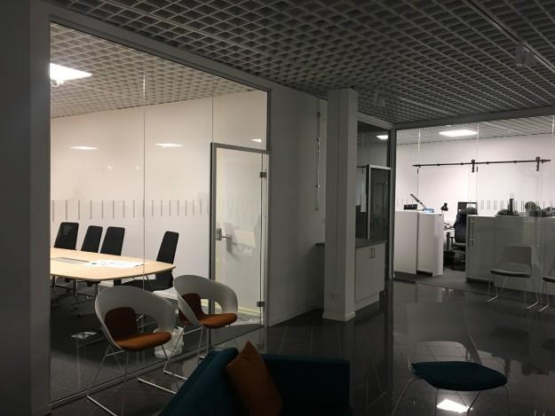 Glas kontorslandskap
